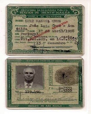 Carteira de Identidade, expedida em 13 de dezembro de 1.963 (enviado por Luiz Piva).