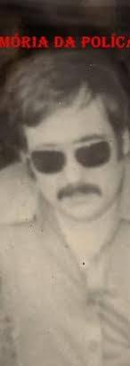 "Delegado de Polícia Supervisor do GARRA Ademar Magalhães Lopes ""Capitão Gancho, in memorian"", na década de 70."