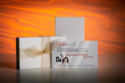 Kadobon Standaard Shoot & Print 40x60