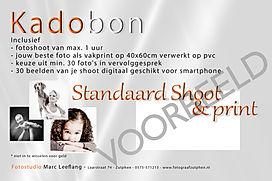 Cadeaubon Standaard Shoot en print 2019