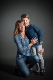Studio moeder en zoon
