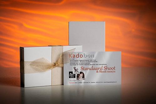 Kadobon Standaard Shoot Collage Bloxit 120x72cm