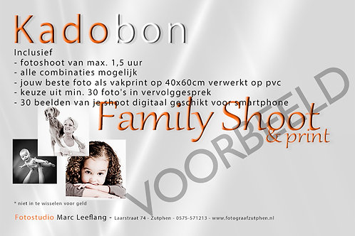Family Shoot & Print 40x60