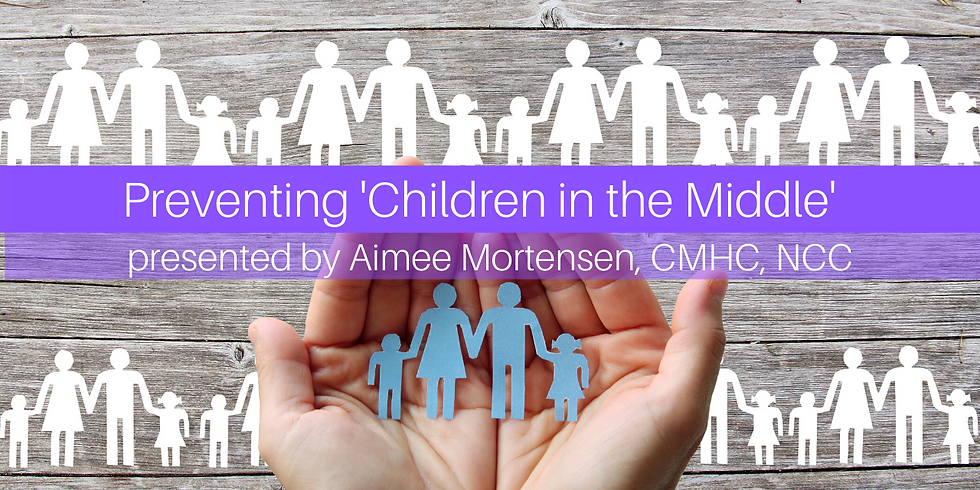 Workshop:  Preventing 'Children in the Middle'