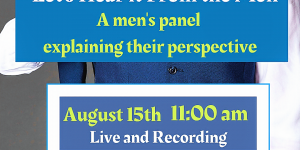 Partner Webinar: Let's Hear from the Men
