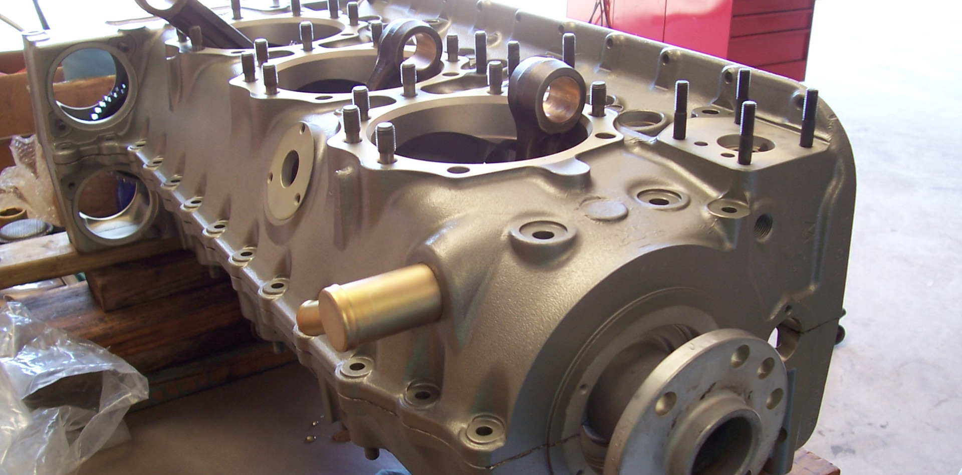 Engine Build P-Ponk 520