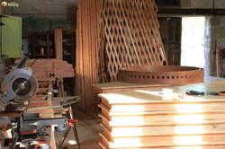 atelier de fabrication de yourte