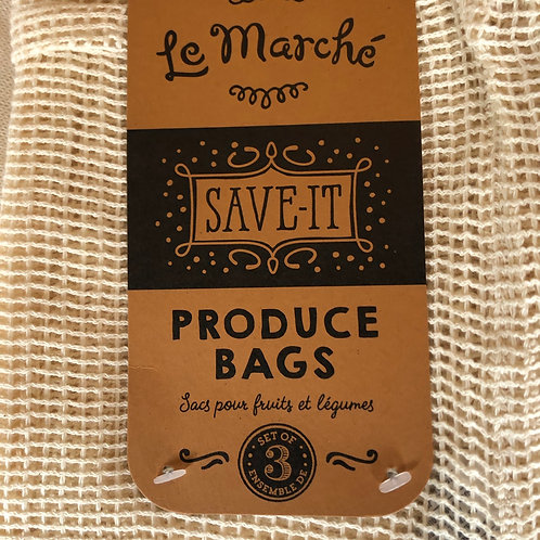 Set of 3produce bags