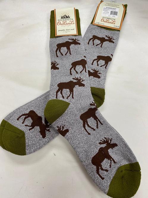Men's Moose Socks