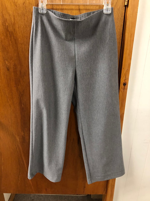 Tribal sportswear charcoal heather pull mid calf pants with flair
