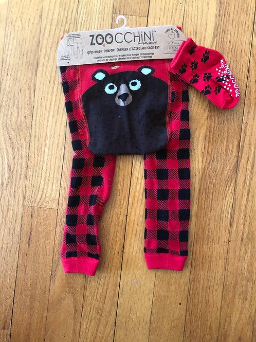 copy of Crawlin Legging/sock set