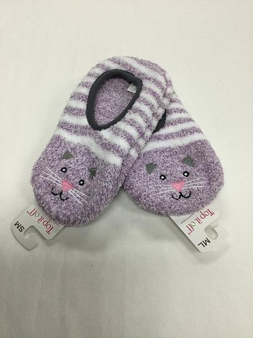 Kitty Slipper Socks