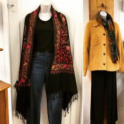 Capes, shawls, and jackets