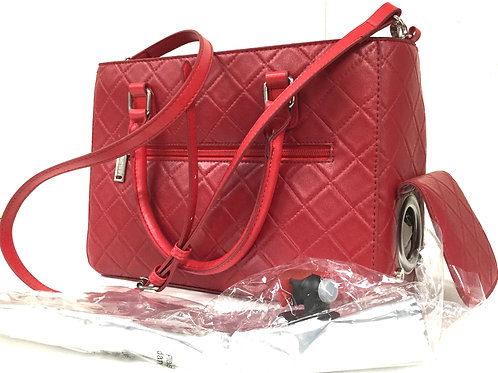 Red drink purse