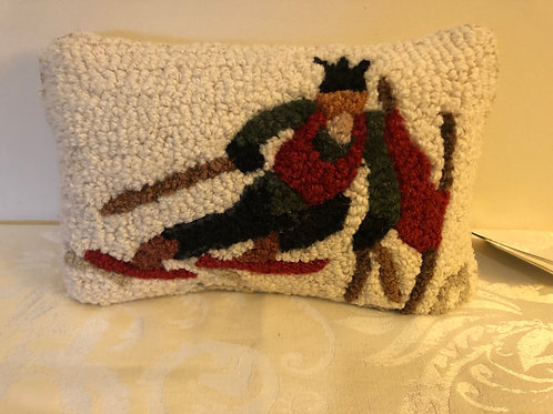 Skier pillow