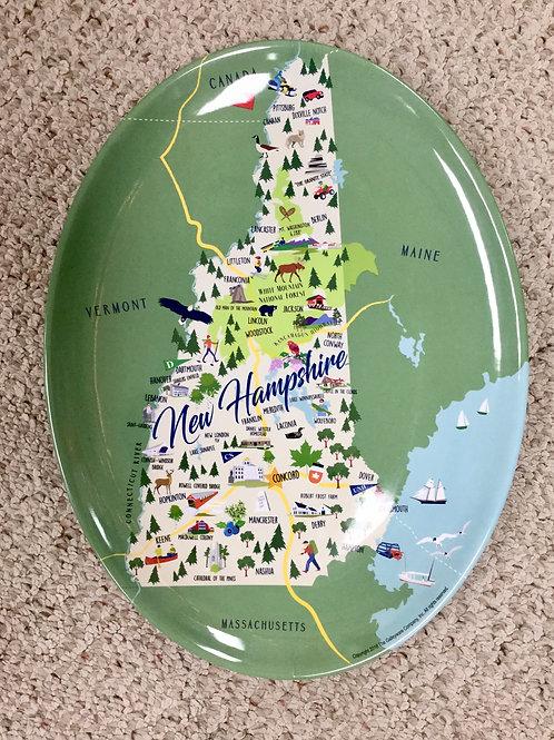 New Hampshire Melamine Tray/Platter