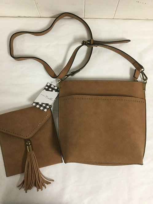 2 in 1 messenger bag and x body