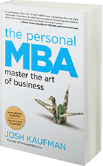 The Personal MBA' a must!
