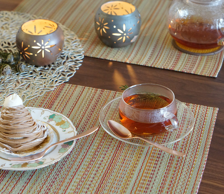 IGUSA Placemat vintage warm