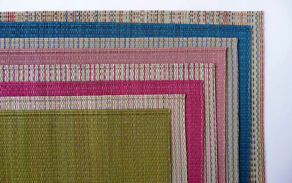 Coloful IGUSA Placemats