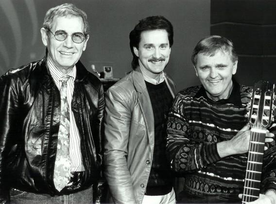 Chet Atkins, Darrell Toney & Jerry Reed.