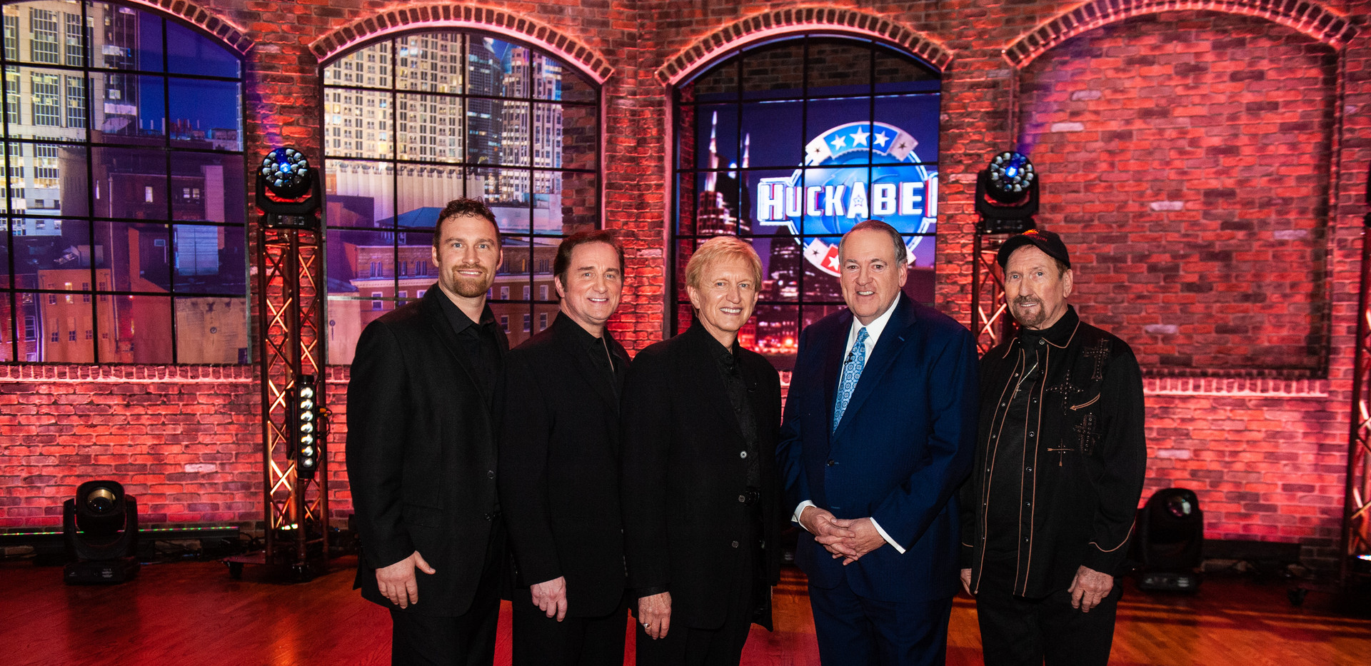 The Imperials, Gov. Mike Huckabee & Jame