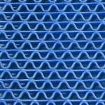 Color azul para tapetes
