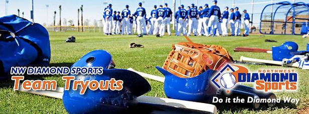 Baseball Tryouts for Northwest Diamond Sports