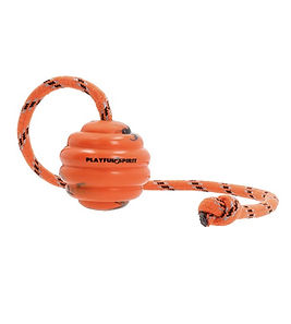 Natural Rubber Ball on a Rope