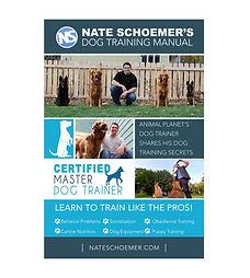 Nate Schoemer Dog Training Manual