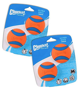 Chuckit Ball Ultra Ball Medium 4-Pack