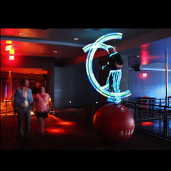 LED Ball Walker w/ Customizable POI