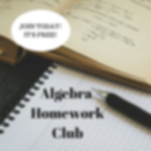 Algebra Homework Club