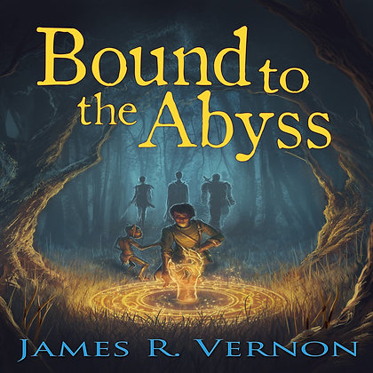 Bound to the Abyss Signed Paperback & Bookmark