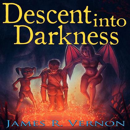 Descent into Darkness Signed Paperback & Bookmark