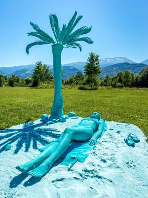 """Bleu des îles - """"Fête du parc"""" Paul Jargot"""