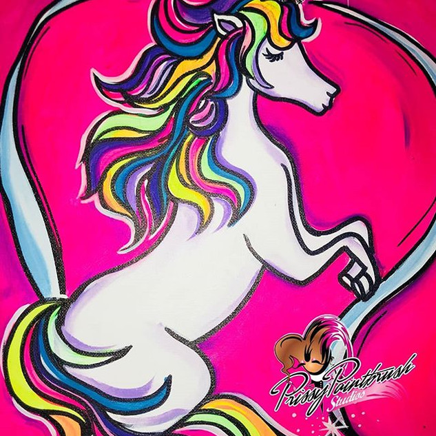 Kids Unicorn Paint Class 🦄_September 15