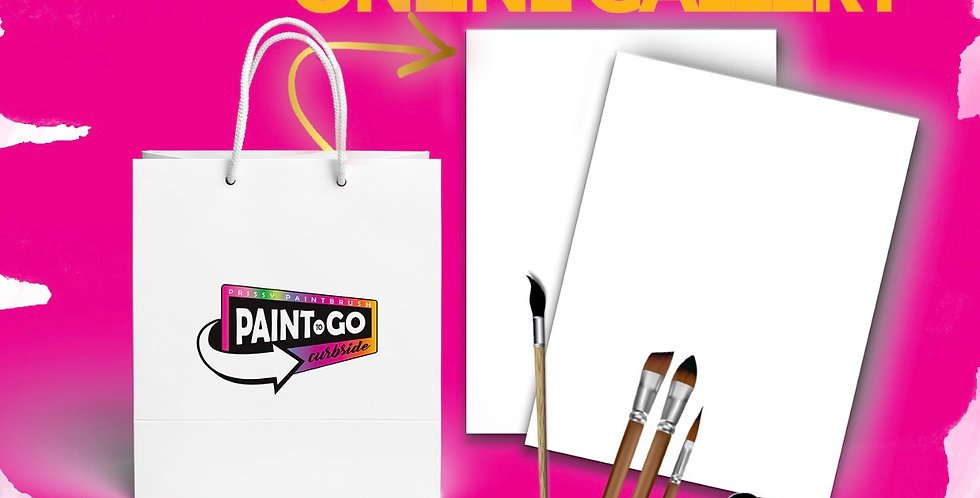 Pick your Own Paint Kit COUPLES ONLY!!  (2) Canvas