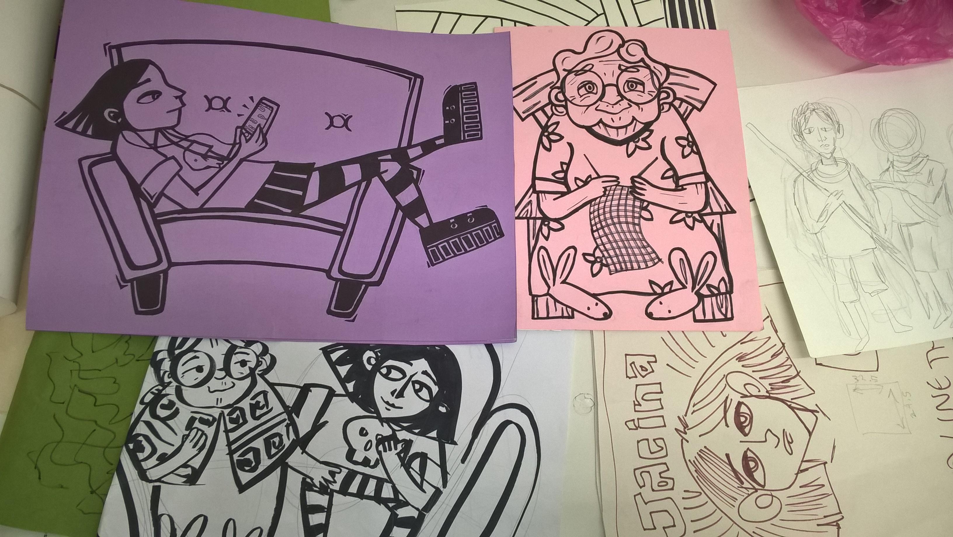 Jacina sketches