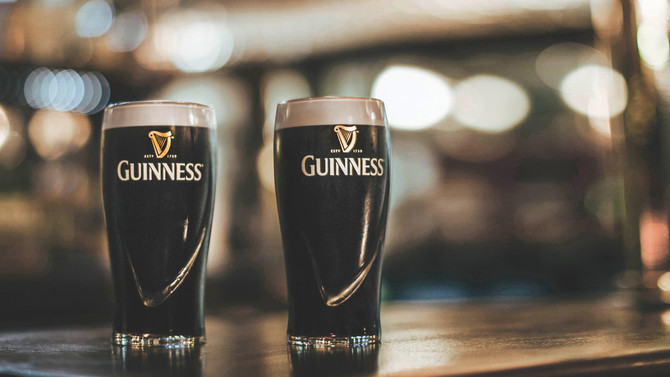 St Patricks Day (week), The Guinness is on us!