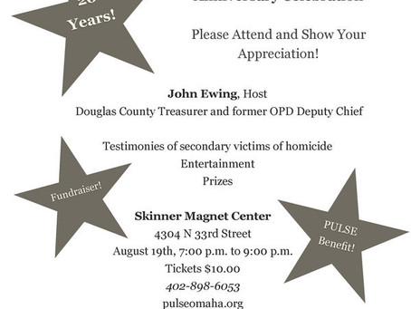 Support Murder Victims' Families - Annual Pulse Event