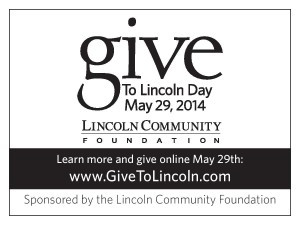 Thanks for your Support on Give to Lincoln Day!