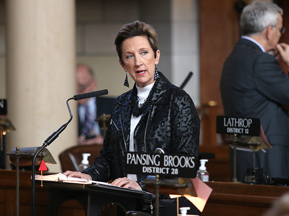 Sen. Patty Pansing Brooks; Source: Unicameral Update