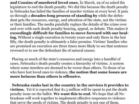 Victims' Families Speak Out