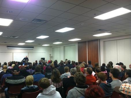 Coverage of Curtis McCarty's Nebraska Speaking Tour
