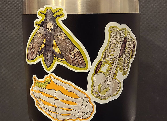 Death Sticker Set (3 Designs)