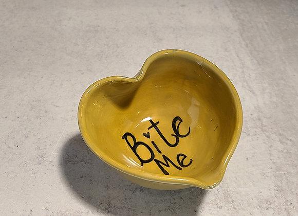 <3 Bite Me (Conversation Heart Dish)