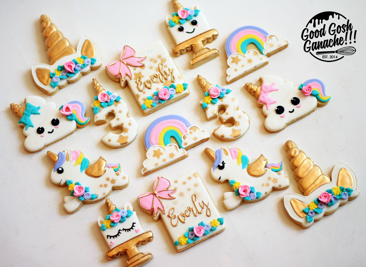 Unicorn Cookies 1 Wm
