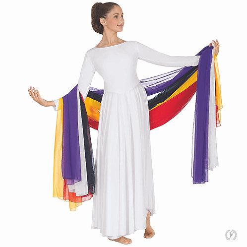 39001 - Eurotard Extra Long Fabric Dance Sash