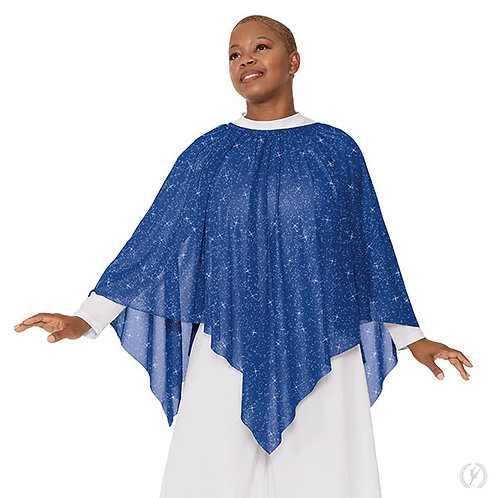 07768 - Eurotard Womens Graceful Shimmer 3-in-1 Overlay